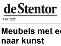 Artikel in dagblad de Stentor, juni 2007