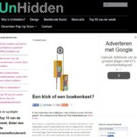 Artikel over Move on Time in Unhidden - 2015
