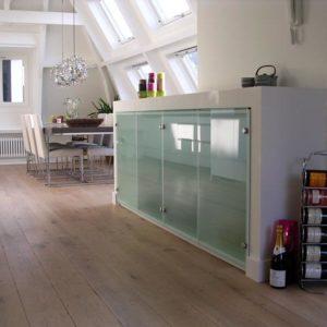 Interieur- en meubelontwerp voor een appartement in Amsterdam.