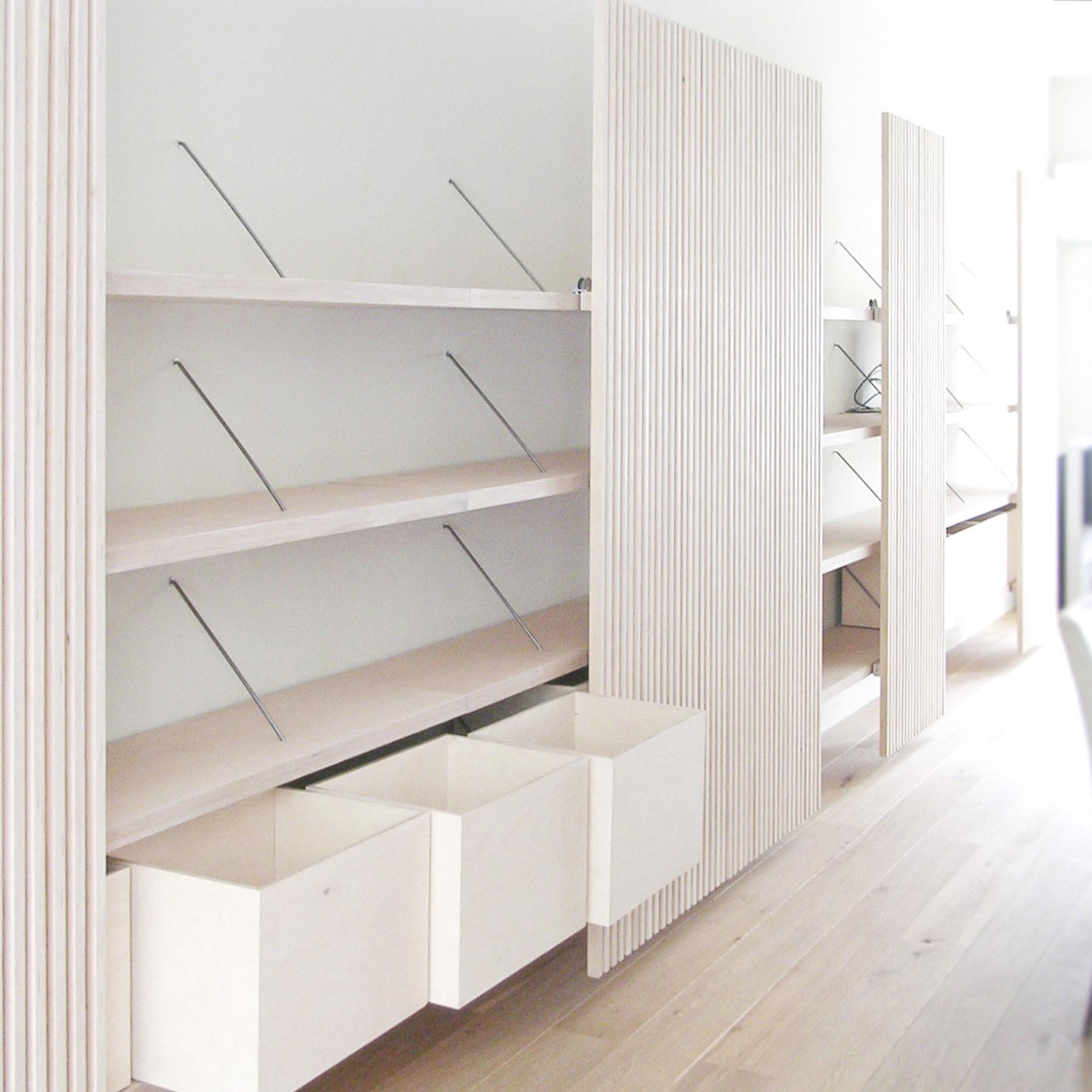 Wandkast 39 bright future 39 stijlapart for Meubels voor kleine ruimtes