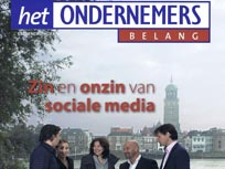 Artikel in het Ondernemersbelang, januari 2012