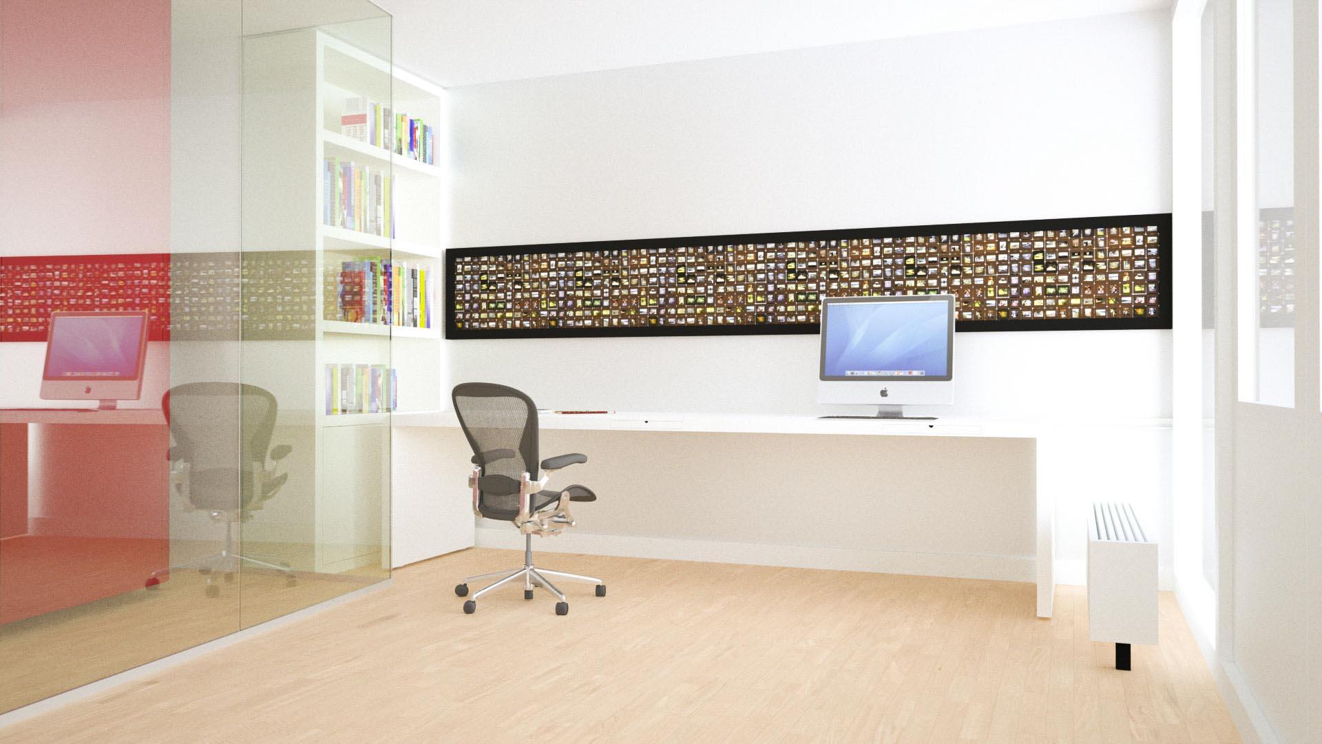 Bureau voor een kantoor aan huis - Kantoor aan huis outs ...