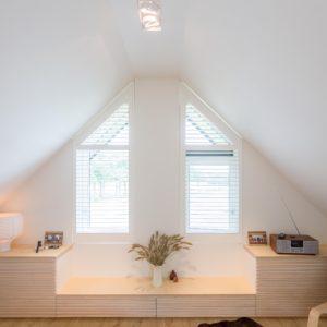 Raam slaapkamer met badkamer opmaat